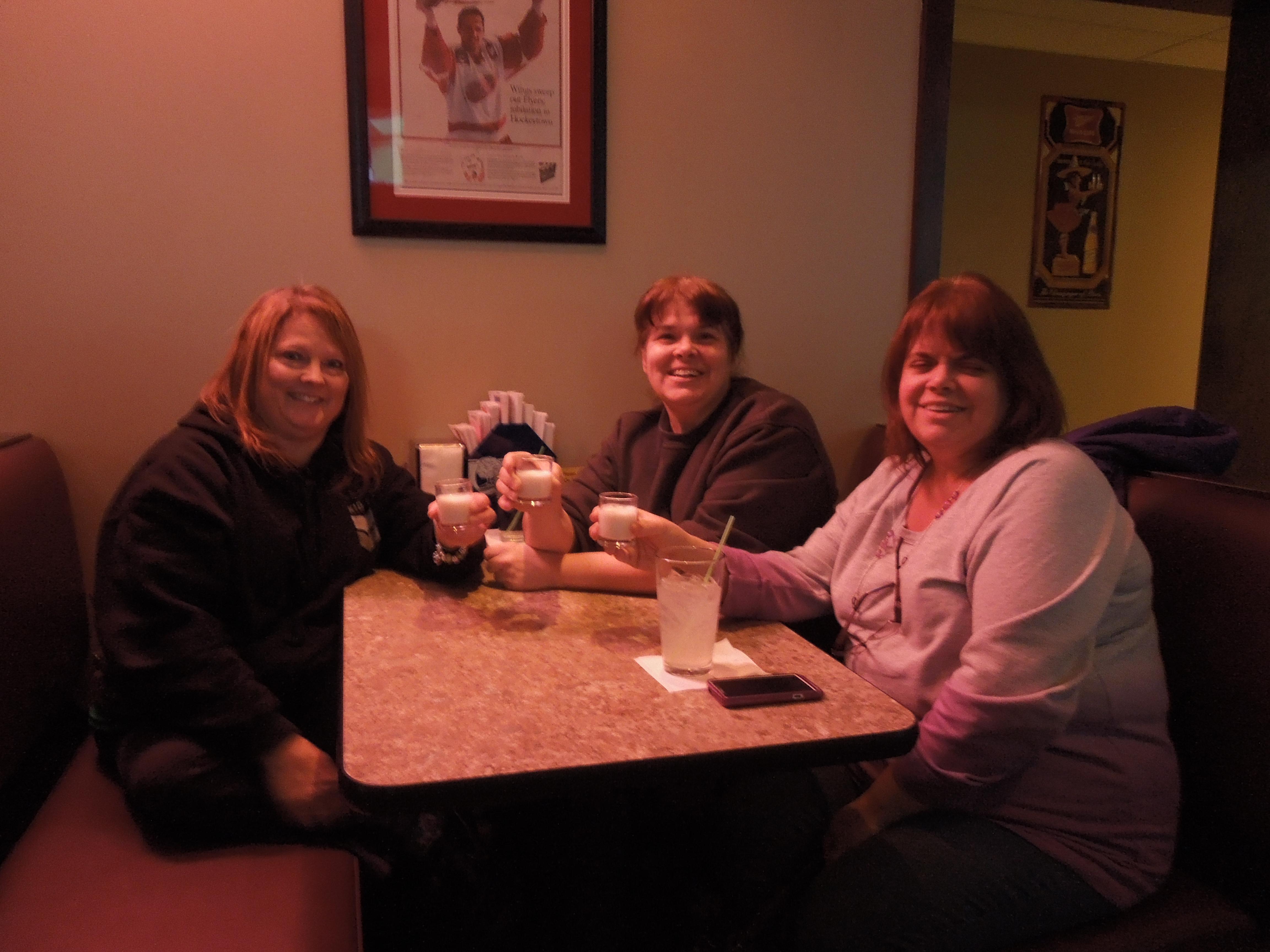 Tracey, Melina, & Tina